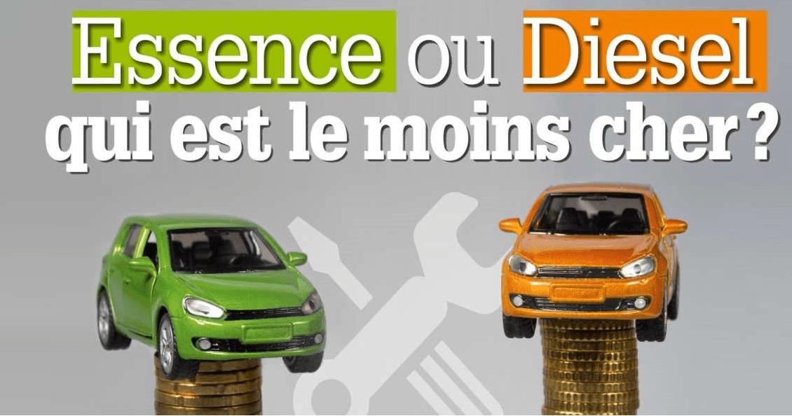 voiture Diesel vs essence